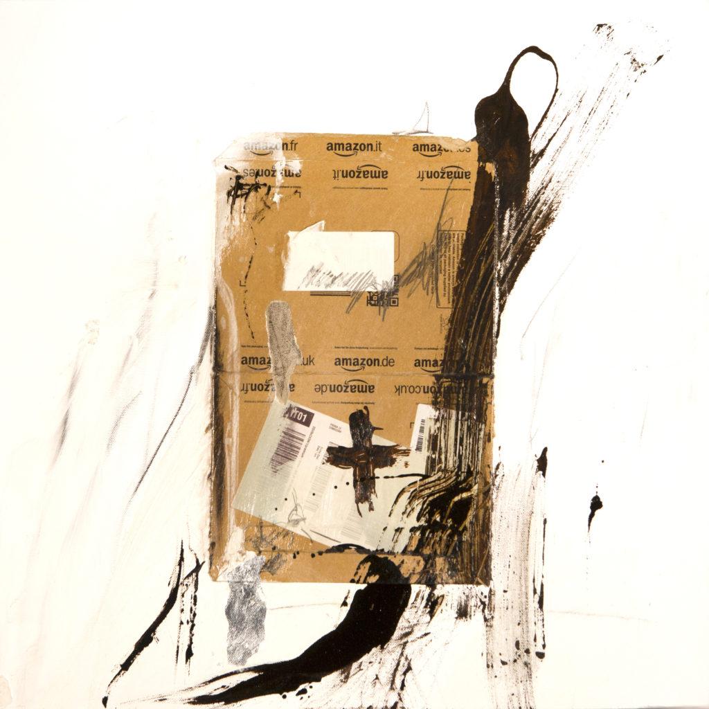 AP Ec 10:1, 2015, tecnica mista, cartone su tela, cm 60x60