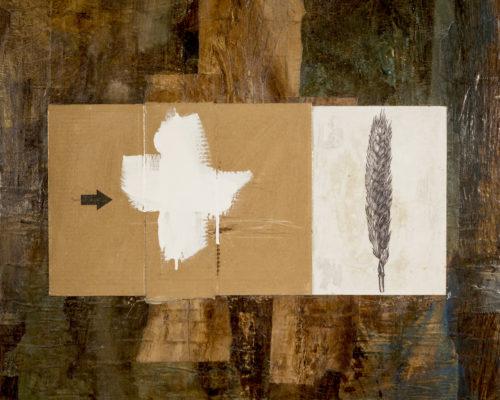 AP Ec 10:12-13, 2012-2015, tecnica mista, cartone su tavola, cm 80x100