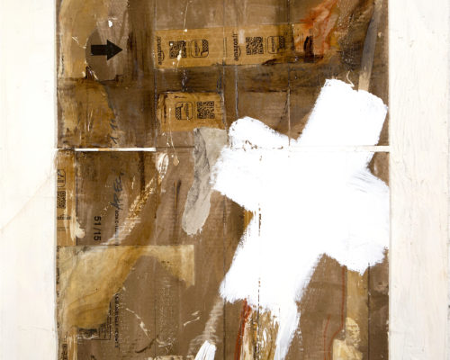 AP Ec 1:11, 2015, tecnica mista, cartone su tavola, cm 70x81
