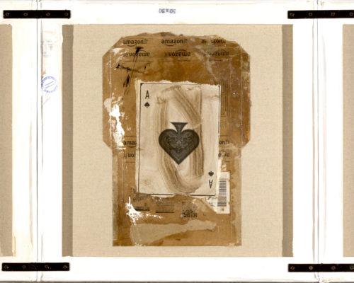 AP Ec 2:17-19, 2015, tecnica mista, cartone su 3 tele rovesciate e assemblate