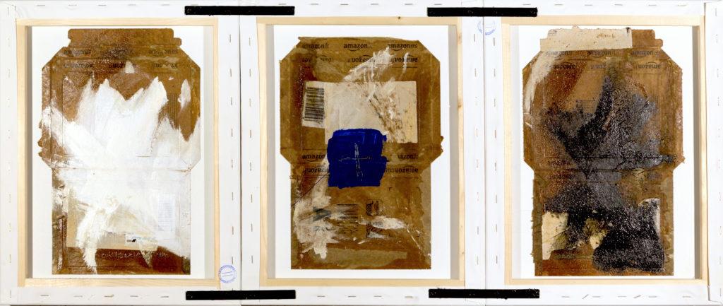 AP Ec 2:20-21, 2015, tecnica mista, cartone su 3 tavole rovesciate e assemblate