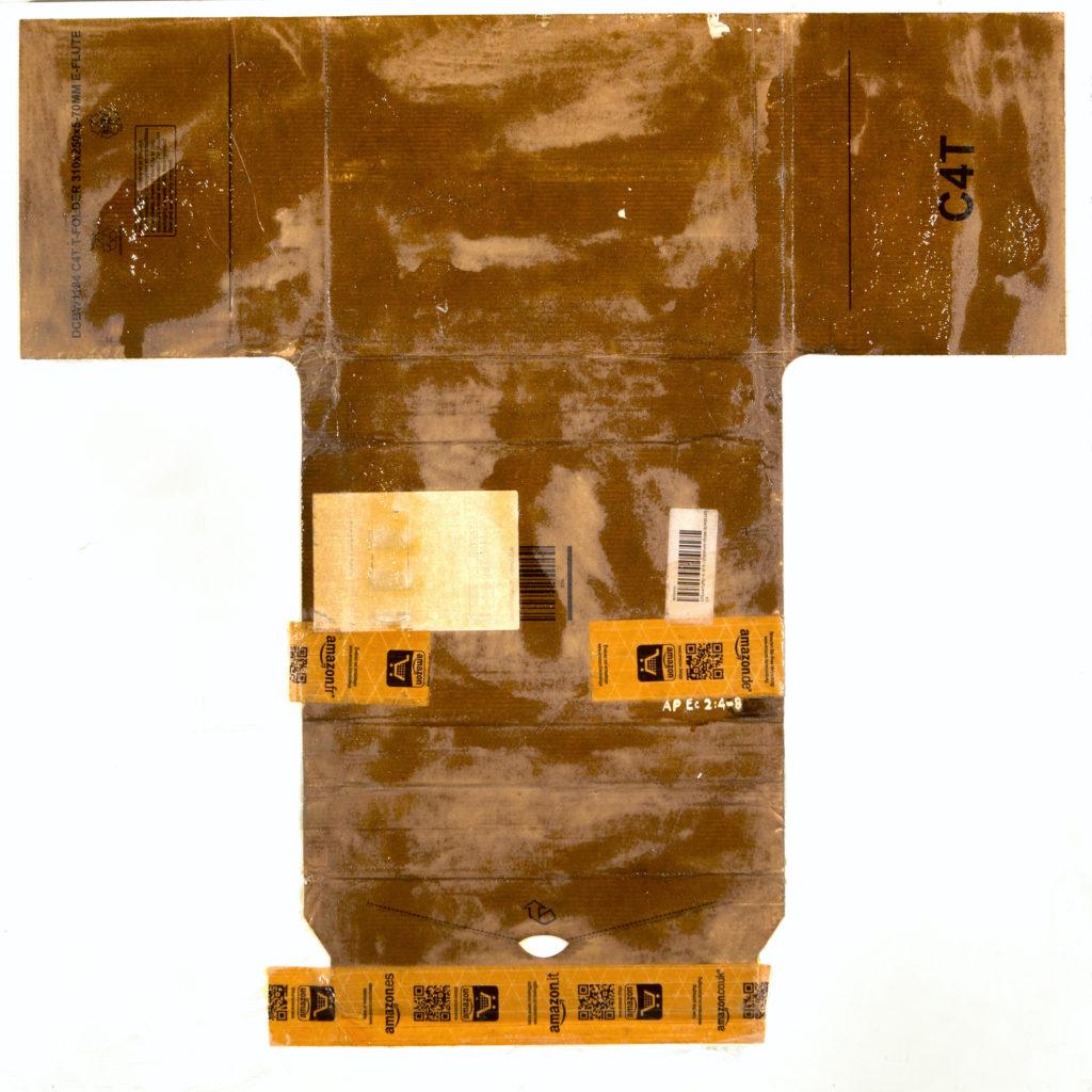 AP Ec 2:4-8, 2015, tecnica mista, cartone su tavola, cm 80x80