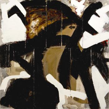AP Ec 4:6, 2011-2015, tecnica mista, cartone su tavola, cm 80x80